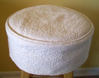 ivory bar stool slipcover bar stool cushion barstool covers - Bar Stool Cushions