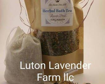 Lavender Blend Herbal Bath Tea