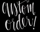 Custom Listing for Kelly