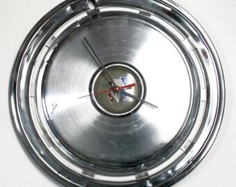1974 - 1977 Buick Hubcap Wall Clock - LeSabre / Century / Estate Wagon - 1975 1976