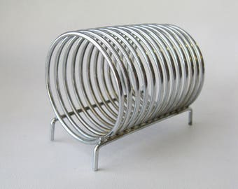 Industrial Metal Coil Mail Organizer