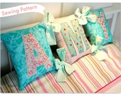 Spell-a-name Tied Cushions PDF Sewing Guide
