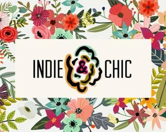Indie & Chic Custom Order - 4 Custom Hats