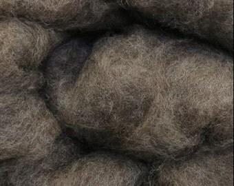 Consolati Light Grey Romney Wool Batt (8 oz)