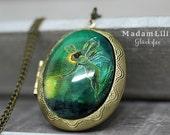 Good Luck fairy Medallion Necklace