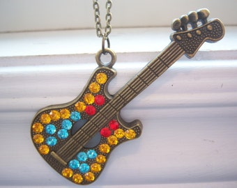 Guitar Necklace - Free Gift With Purchase
