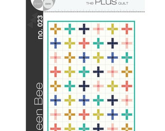 Green Bee Patterns - Plus Quilt (paper) no. 023