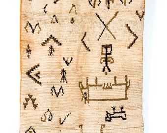 Dream of the High desert -Vintage Azilal rug