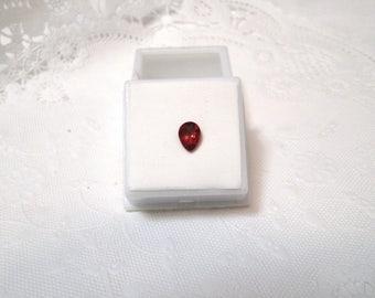 1.00 ct Minimum Pear Andesine Labradorite Gemstone 8 x 6mm JTV w/ Invoice