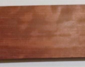"Bubinga 12 3/4"" x 4 3/8"" x 3/4"", Old Wood, Woodworking, Craft Wood, Make Barrettes, Pens, Earrings, Pins, Inlays, Knife Handles, Crafts"