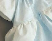 Layette Gown CINDERELLA Inspired Peasant Princess Dress Girls