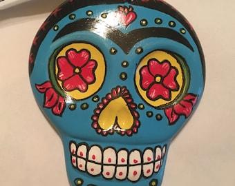 Frida sugar skull ornament