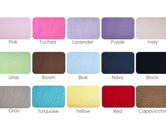 "Fabric many colors minky Photo Floor Prop 36"" x 36"" baby craft blanket 1 yd X 1 yard"