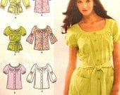 Blouse Sewing Pattern UNCUT Simplicity 2651 Sizes 8-16