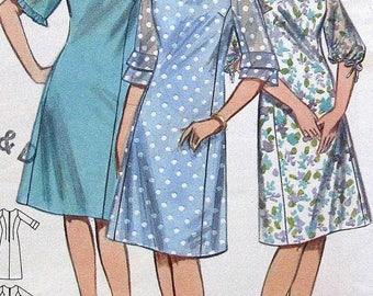 Vintage Dress Sewing Pattern Butterick 3462 Size14