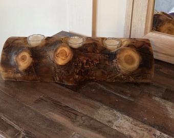 Aspen Candle Log