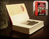 Hollow Book Safe & Flask - Jack the Ripper - Secret Book Safe