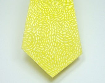 Yellow Neckties Mens Neckties Wedding Neckties Yellow Wedding Neckties Custom Neckties