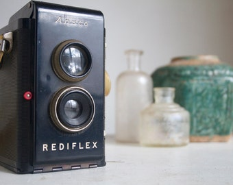 Vintage Camera, Ansco Rediflex, Working Camera, TTV, Decor Camera, Gift for Him, Dad, Brother Under 50