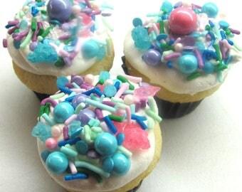 Vanilla Confetti Mini Cupcakes