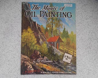 the magic of painting by w alexander...vintage instructional book