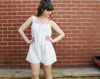 ON SALE 1920s Chemise / 20s Step In Teddy