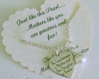 Mothers Day From Daughter, Mother Jewelry, Mother of the Bride Gift, Wedding Gift For Mother, Birthday Gift For Mother, Mothers Day Gift