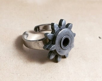 Industrial gear ring