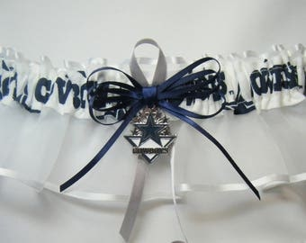 Dallas Cowboys handmade keep wedding garters sports garter