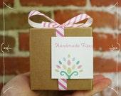 Custom Listing for Alex - 50 wrapped favors with two mini fizzy bath bombs inside