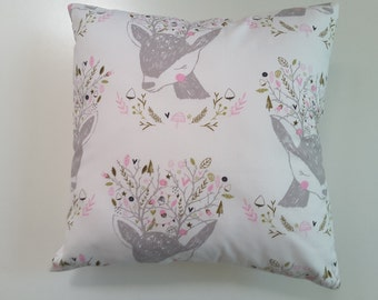 Decorative cushion,  deer cushi4on,