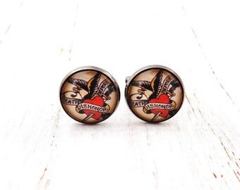 Death Before Dishonor Cufflinks