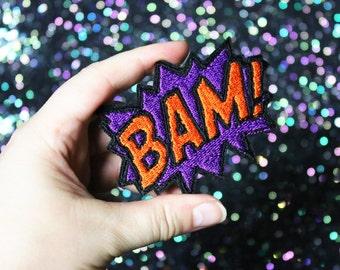 BAM Brooch, Comic Inspired Pin