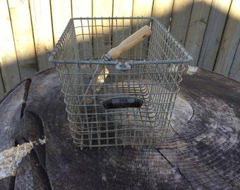 Vintage Metal Locker Gym Basket #216 American Playground Device Co