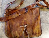RESERVED for bsl1411 Elk and Buffalo Hide Lined Possibles Bag