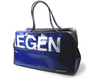 Retired Vintage Freitag Sabrina Handbag, Large Overnight or Gym Bag, Swiss Made Purse