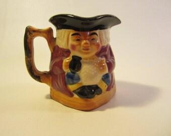 Vintage Double Faced Toby Jug   Figural Mug