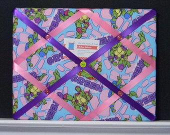 11 x 14 Teenage Mutant Ninja Turtle (TMNT) Girls Memory Board