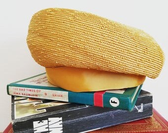 FuNkY 1960s Carson Pirie Scotte Gold Yellow Hat