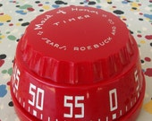 Vintage Red Maid of Honor Kitchen Timer