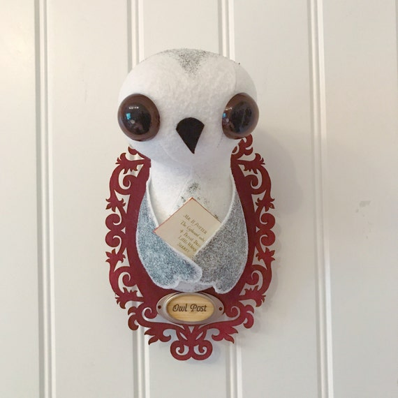 Harry Potter Owl Taxidermy