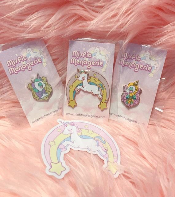 Cute Bundle- enamel pins and sticker