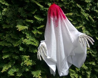 Bloodstained Ghost - Original Hanging Halloween Decoration
