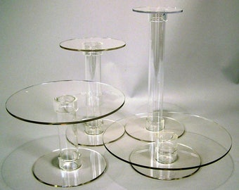 Acrylic Cake or Cupcake Stand