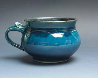Sale - Handmade pottery soup mug ceramic chili mug ice cream bowl 22 oz 3830