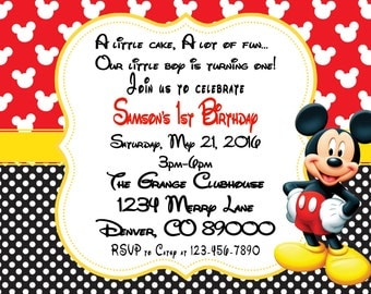 Mickey Mouse birthday party Mouse party decorations Mouse
