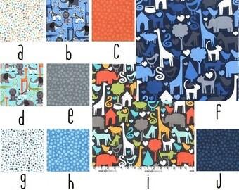 Safari Custom Crib Bedding--YOU DESIGN, I CREATE