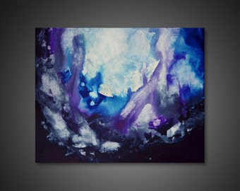 Large Canvas Art - abstract canvas art, large abstract wall art, unique wall art, modern paintings, art PRINT on CANVAS, abstract painting