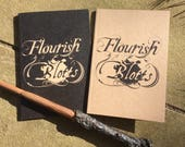 Flourish And Blotts Harry Potter A6 Notebook Recycled Paper
