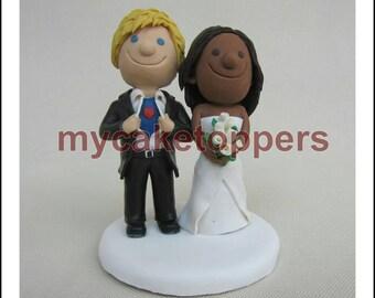 Custom wedding cake topper, Bride and groom cake topper, personalized cake topper, Mr and Mrs cake topper,  superman, superhero